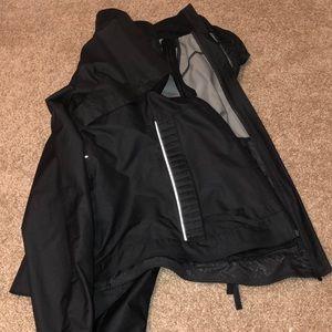 lululemon rain jacket/vest black